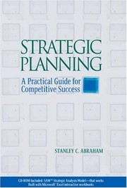 Cover of: Strategic planning | Stanley Charles Abraham