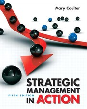 Cover of: Strategic management in action | Mary K. Coulter