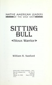 Cover of: Sitting Bull, Sioux warrior