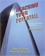 Cover of: reaching your potential:personal & professional development