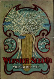 Cover of: 29th catalog | Wernich Seed Co