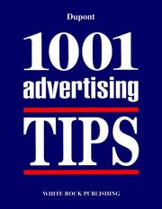 Cover of: 1001 Advertising Tips