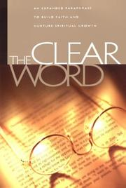 Cover of: Clear Word Bible