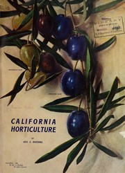 Cover of: California horticulture