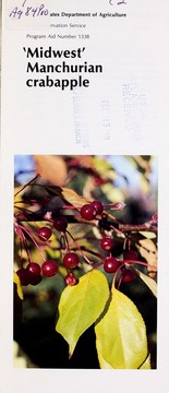 Cover of: 'Midwest' manchurian crabapple | United States. Soil Conservation Service.