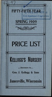 Cover of: Retail price list | Kellogg