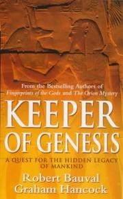 Cover of: Keeper of Genesis