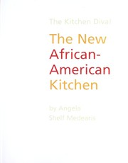 Cover of: The New African-American Kitchen | Angela Shelf Medearis