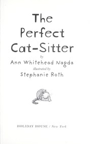 Cover of: The perfect cat-sitter | Ann Whitehead Nagda