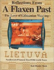 Cover of: Reflections from a flaxen past by Kati Reeder Meek