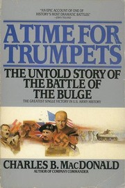 Cover of: A time for trumpets