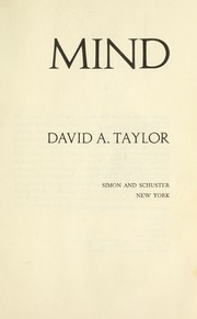 Cover of: Mind | Taylor, David A.
