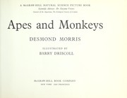 Cover of: Apes and monkeys. | Desmond Morris