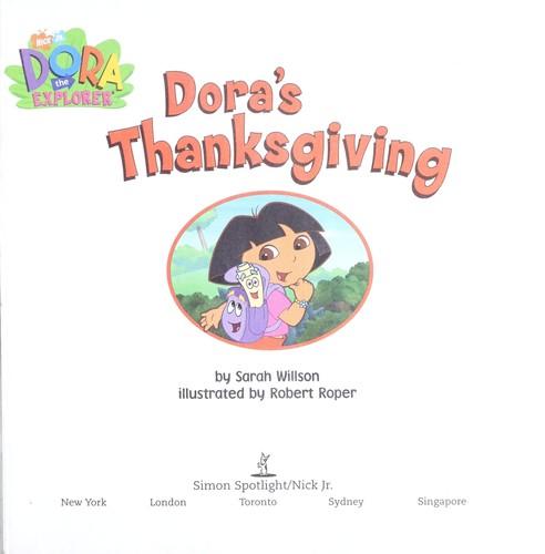 Dora\'s Thanksgiving (2003 edition) | Open Library