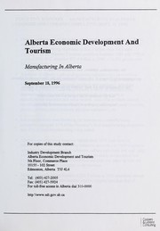Cover of: Manufacturing in Alberta | Coopers & Lybrand Consulting