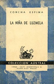 Cover of: La niña de Luzmela.