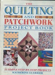 Cover of: Quilting and Patchwork Project Book