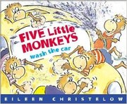 Cover of: Five little monkeys wash the car