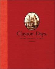 Cover of: Clayton days | Vik Muniz