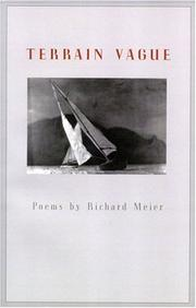 Cover of: Terrain vague | Meier, Richard