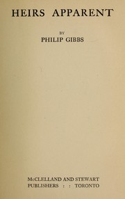 Cover of: Heirs apparent | Gibbs, Philip