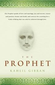 Cover of: The Prophet | Kahlil Gibran