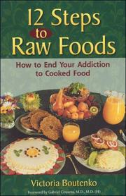 Cover of: 12 Steps to Raw Foods | Victoria Boutenko