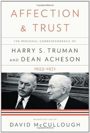 Cover of: Affection & Trust |