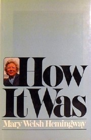 Cover of: How it was