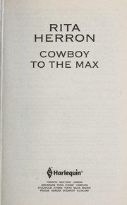Cover of: Cowboy to the Max
