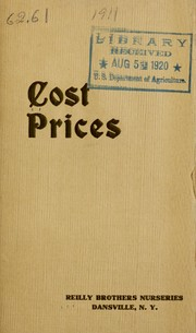 Cover of: Fruit trees at cost prices | Reilly Brothers