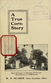 Cover of: The story of 10 ears of corn | W.N. Scarff (Firm)