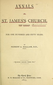 Cover of: Annals of St. James
