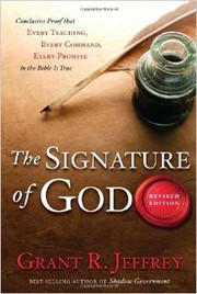 Cover of: The signature of God | Grant R. Jeffrey