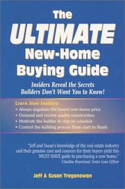 Cover of: The ultimate new-home buying guide | Jeff Treganowan
