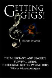 Cover of: Getting Gigs