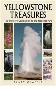 Cover of: Yellowstone treasures | Janet Chapple