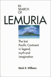 In search of Lemuria by Williams, Mark