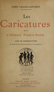 Cover of: Les caricatures sur l'Alliance franco-russe