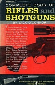 Cover of: Complete book of rifles and shotguns