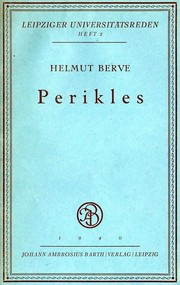Cover of: Perikles