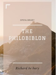Cover of: Philobiblon