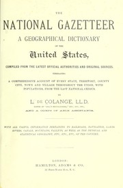 Cover of: The national gazetteer