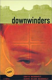 Cover of: Downwinders | Curtis Oberhansly