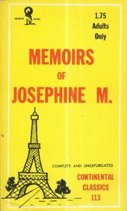 Cover of: Confessions of Josephine M. |