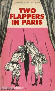 Two flappers in Paris by A. Cantab