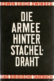 Cover of: Die Armee hinter Stacheldraht