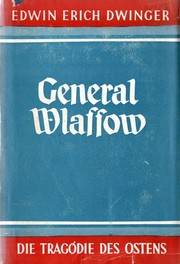 Cover of: General Wlassow