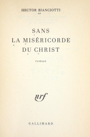 Cover of: Sans la miséricorde du Christ