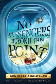 Cover of: No passengers beyond this point